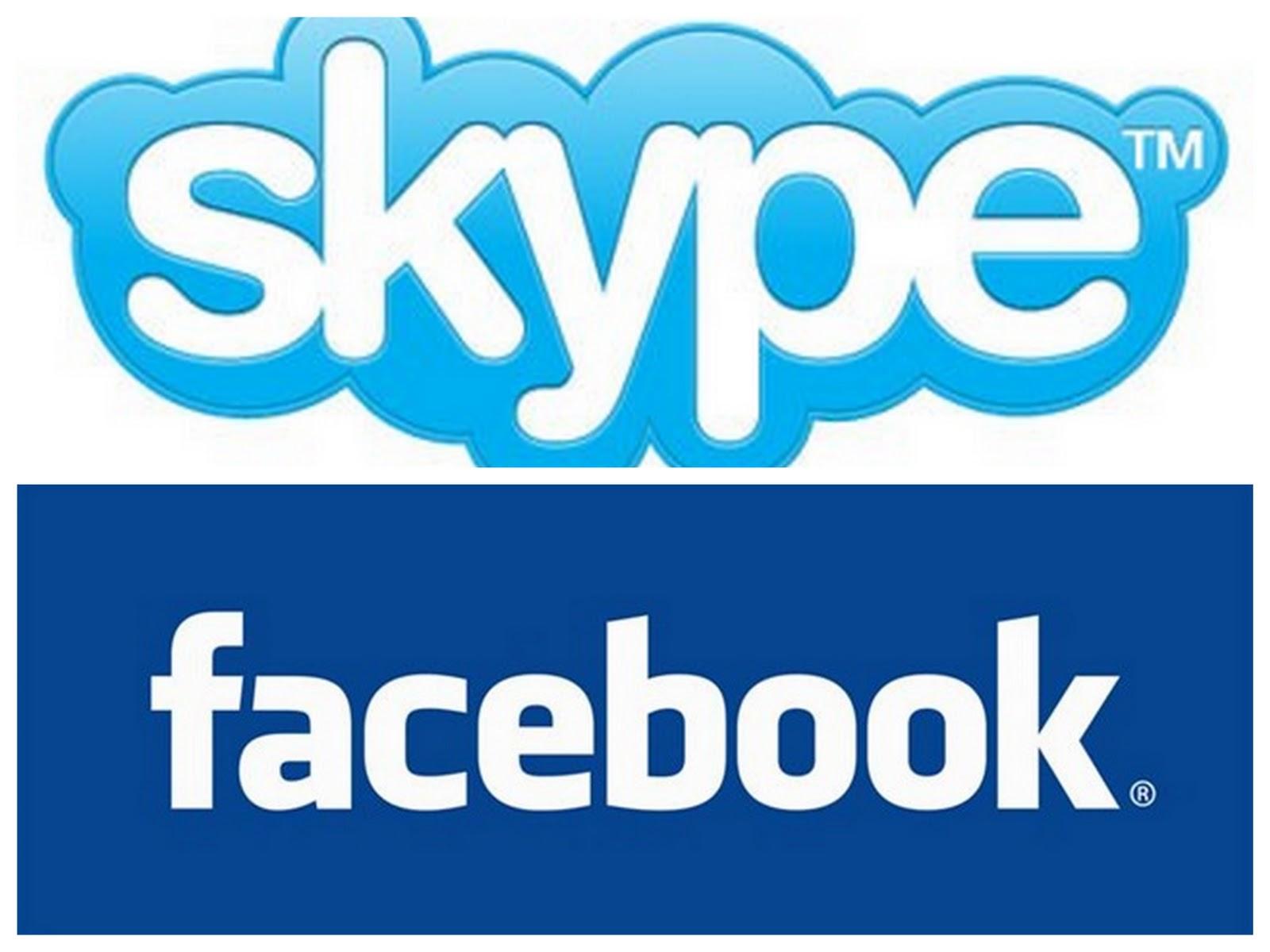 Skype+Facebook