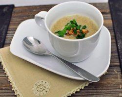 Recept: Krem supa od šampinjona i lisičarki