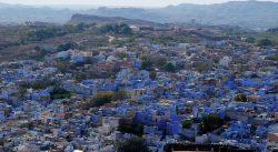 Plavi misteriozni grad u Indiji
