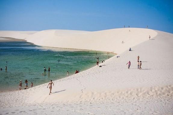 Najveće pustinje na svetu  Len%C3%A7%C3%B3is-Maranhenses-2-575x382