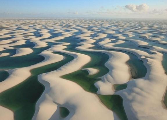 Najveće pustinje na svetu  Len%C3%A7%C3%B3is-Maranhenses-575x412