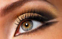 Primjeri super našminkanih očiju