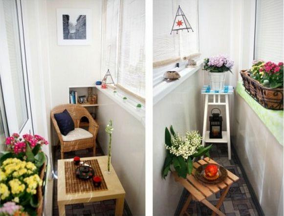 30 ideja za ure enje malih balkona. Black Bedroom Furniture Sets. Home Design Ideas