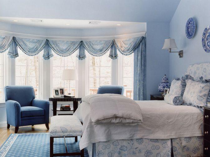 Brown Toile Bedroom Ideas: Spavaće Sobe U Plavoj Boji