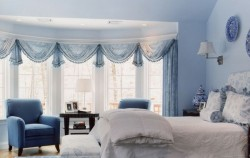 Spavaće sobe u plavoj boji