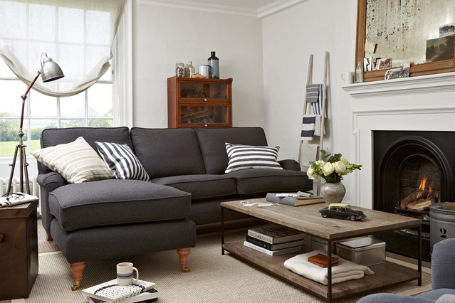 Mega galerija 60 ideja za uredenje dnevnog boravka for Living room makeover ideas uk