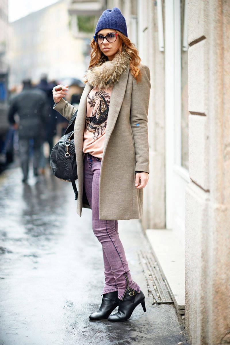 画像 : ミラノ・ストリートファッション~かわいいのにエレガントな
