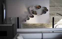 Police za knjige: Kreativan način da osvježite životni prostor