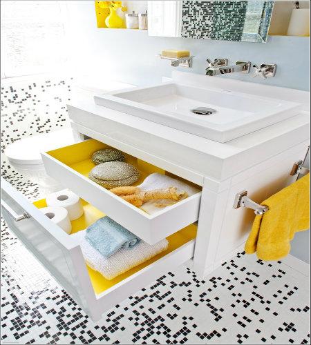 14 pametnih načina da organizujete stvari u kupatilu