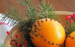 Kako da vam kuća miriše na praznike: Ukrasna narandža sa karanfilićem