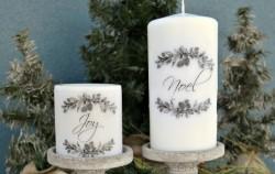 Novogodišnji ukrasi: Izradite svijeću sa slikom pomoću običnog fena!