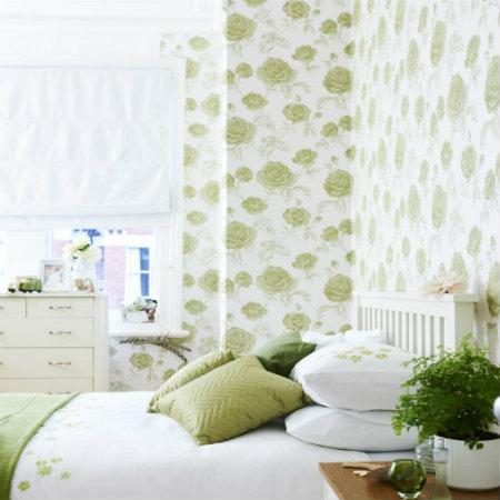10 super jednostavnih ideja za dekorisanje spavaće sobe uz pomoć tapeta