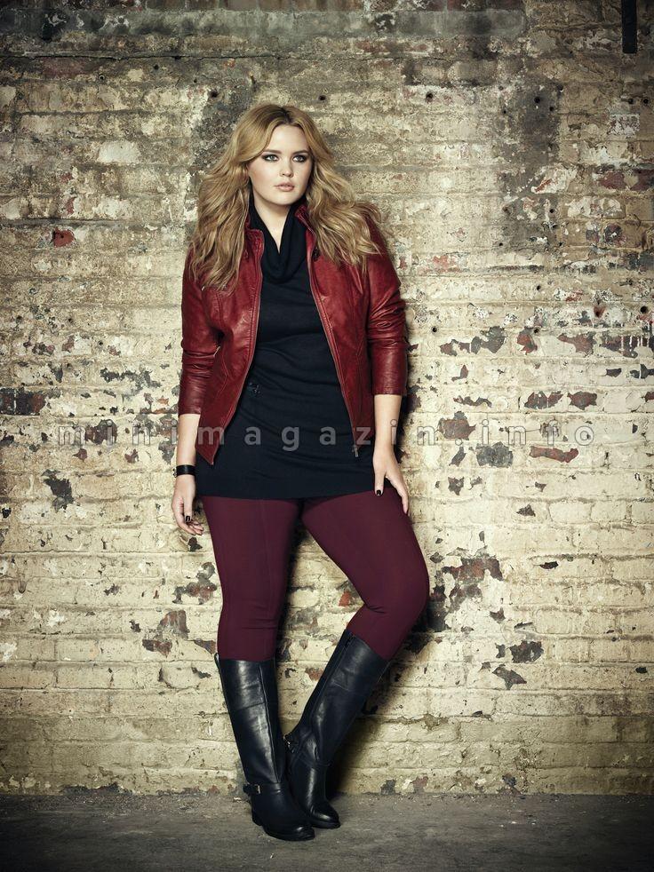 Kožna jakna: 18 kombinacija za dame sa oblinama