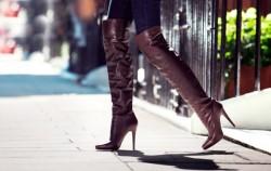 Čizme preko koljena: 18 fantastičnih načina da ih nosite ove zime