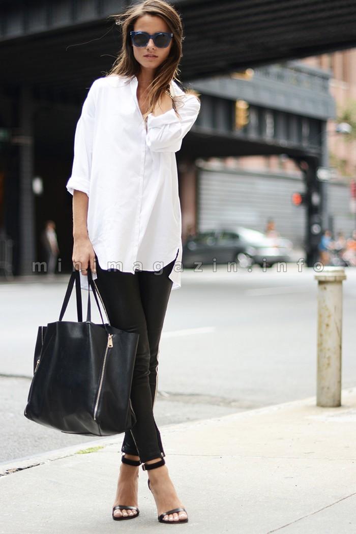 Moderna i poželjna: 20 prekrasnih kombinacija sa bijelom košuljom