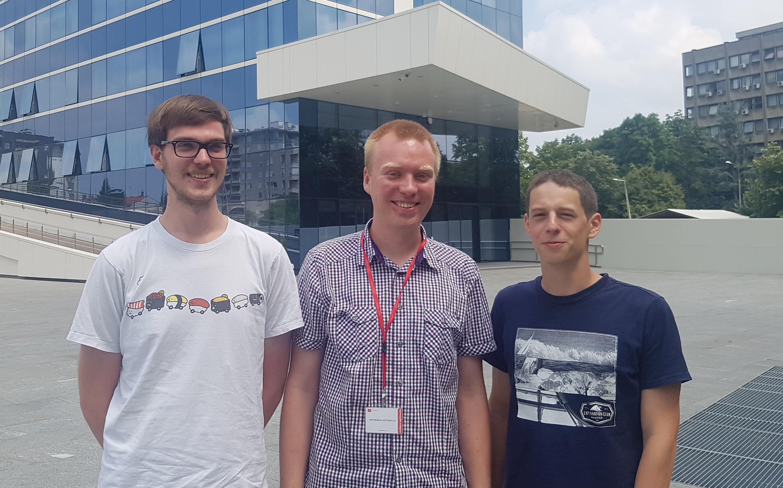Gunnar Lid, Krzysztof Celmer,Pavel Kovarik