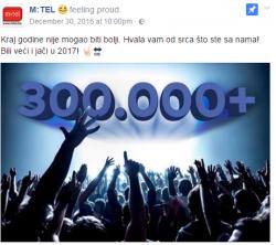 Krug od 300 000 prijatelja